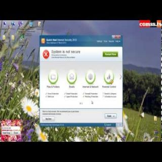 Тестирование - Quick Heal Internet Security 2013 14.00 (7.0.0.4).